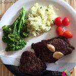 Exemplo de almoço paleo