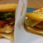 woopsies: simula um pão, com ovos e queijo cremoso como base. Low carb