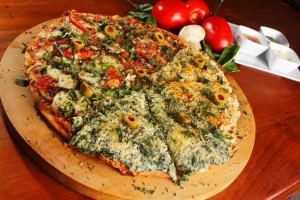 Pizza na dieta paleolítica? Exemplo de escolha no dia do lixo